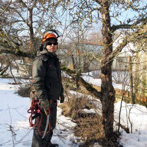 09.03.-10.03.2016 õunapuude hooldus Audru kandis (Tõnu Tomsonil)